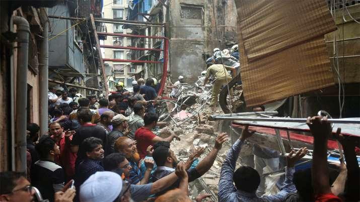 Mumabi Building Collapse- India TV