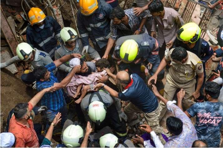 Mumbai building collapses- India TV