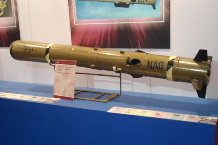Nag Anti-Tank Guided Missile- India TV