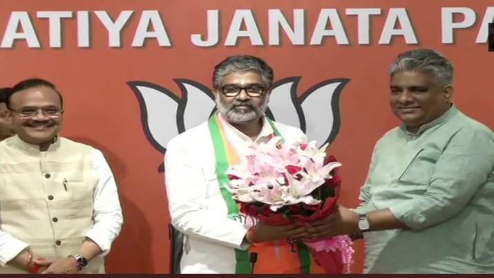 Neeraj Shekhar Joins BJP- India TV