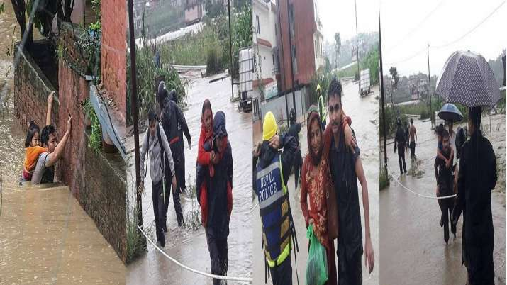 nepal flood- India TV