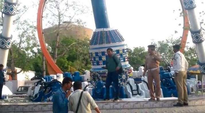 Kankaria adventure park ride breaks down in Gujarat's...- India TV