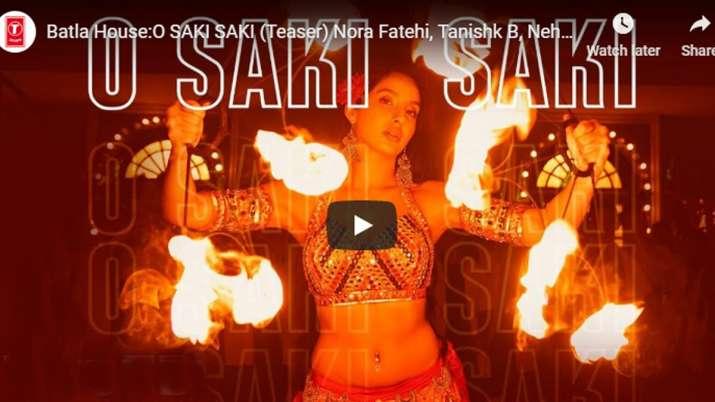 Batla House, O SAKI SAKI Video song, Nora Fatehi, Tanishk bagchi , Neha Kakkar , Tulsi Kumar , B Pra- India TV