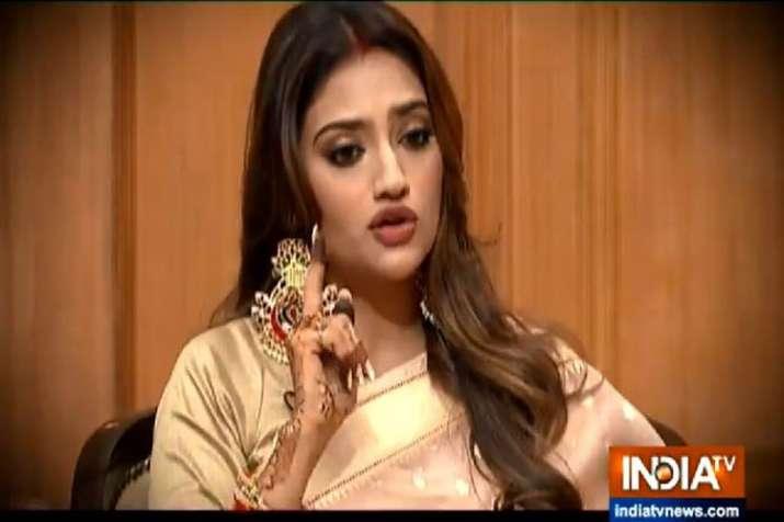 Nusrat Jahan in Aap Ki Adalat- India TV