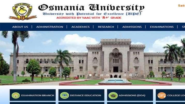 osmania university result 2019- India TV
