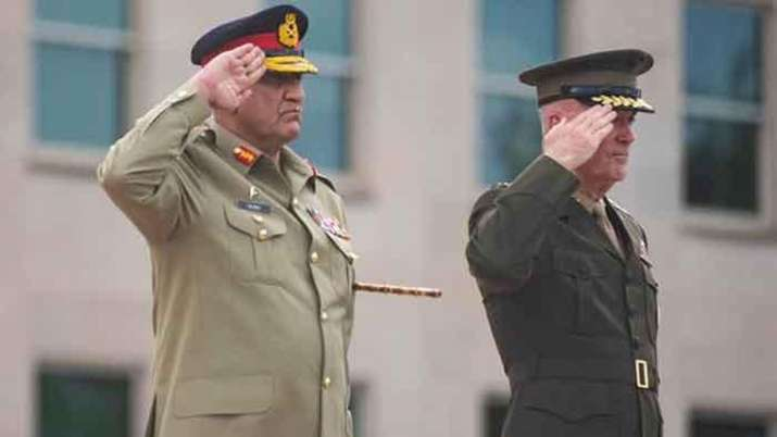 Army Chief General Bajwa receives Guard of Honour at Pentagon- India TV