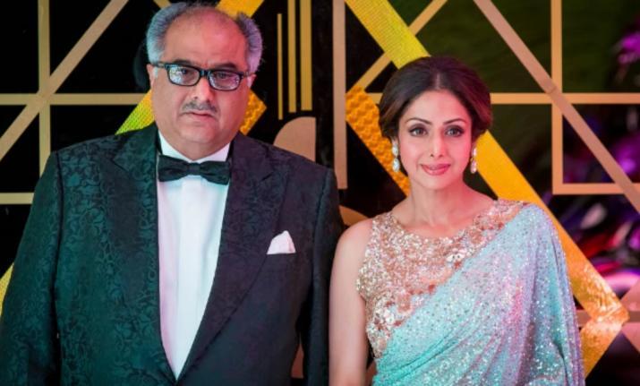 boney kapoor and Sridevi- India TV
