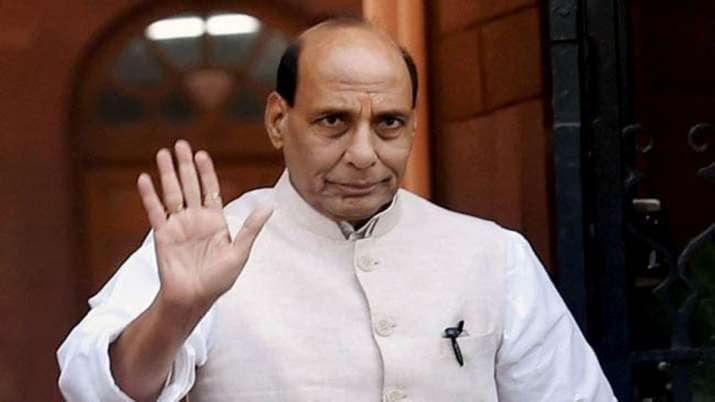 Kashmir issue will be resolved soon: Rajnath Singh- India TV