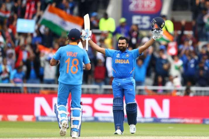 वर्ल्ड कप 2019: न्यूजीलैंड के खिलाफ 27 रन बनाते ही सचिन तेंदुलकर का वर्ल्ड रिकॉर्ड तोड़ देंगे रोहित - India TV