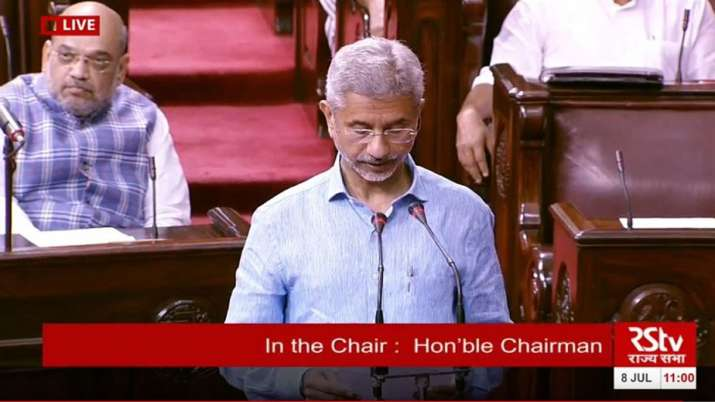 External Affairs Minister S Jaishankar on Trump statement on Kashmir issue- India TV