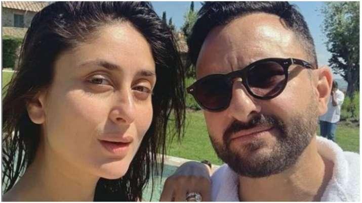 Kareena kapoor and saif ali khan- India TV