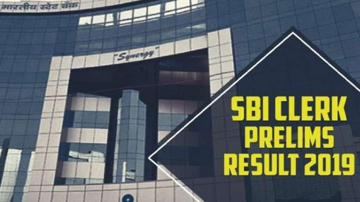 sbi clerk prelims result 2019- India TV