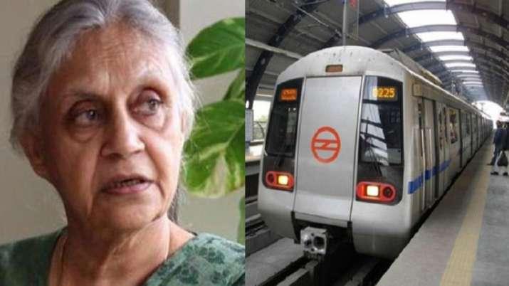 Sheila Dixit work list during her tenure as CM Delhi- India TV