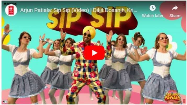 Sip Sip song out- India TV