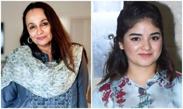 Soni razdan and zaira wasim- India TV