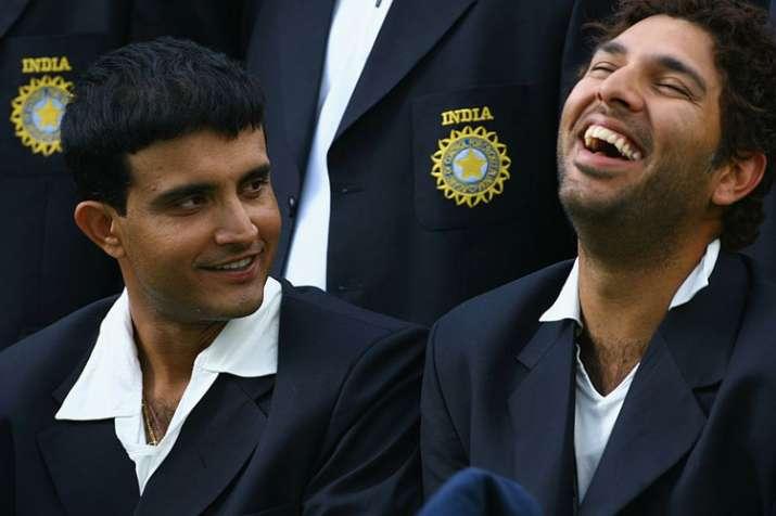Sourav Ganguly and Yuvraj Singh- India TV