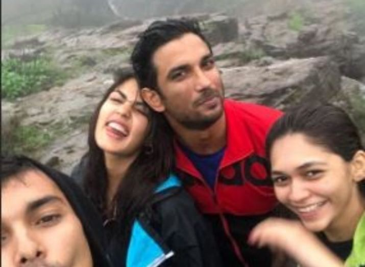 Rhea Chakraborty and Sushant Singh Rajput- India TV
