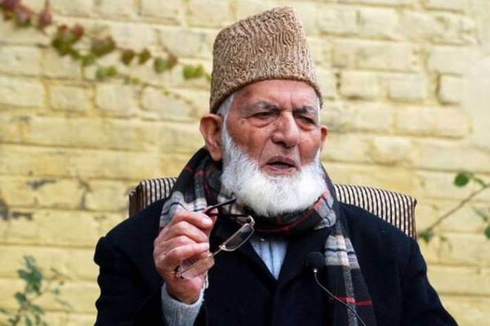 Syed Ali Shah Geelani's grandson Anees ul Islam faces NIA notice- India TV