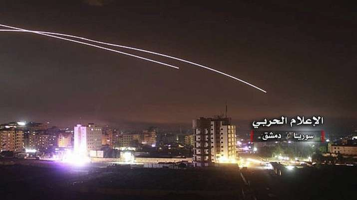 Syria says Israel attacked posts held by its military and allied militias | AP Photo- India TV