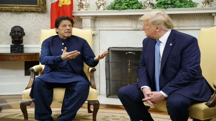 Donald Trump And Imran Khan- India TV