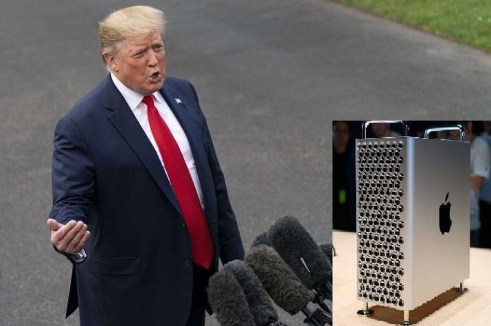 Trump warns Apple, Apple won't get tariff exemption for Mac Pro parts coming from China - India TV Paisa