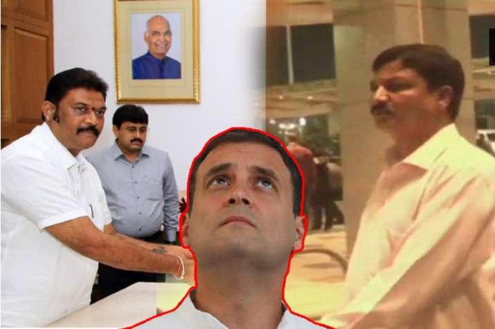 Karnataka Congress MLA Ramesh Jarkiholi resigns after...- India TV