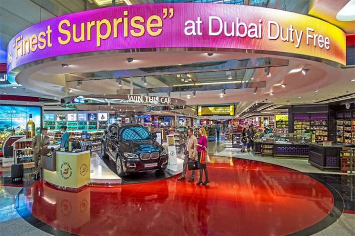 Dubai Airport Duty free- India TV
