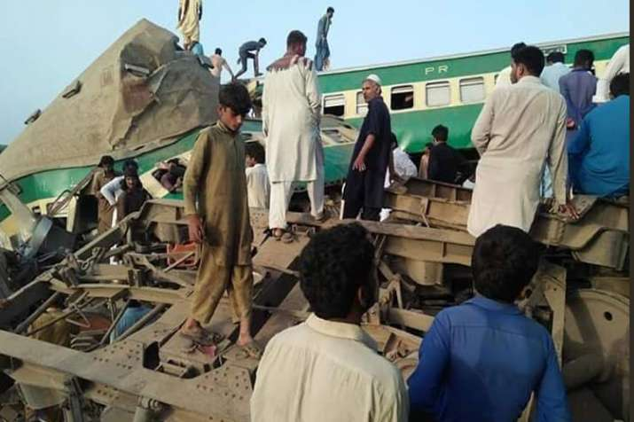 Pakistan Train Accident- India TV