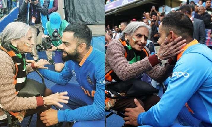 बुजुर्ग महिला प्रशंसक के पास नहीं हैं अगले मैच देखने के टिकट, कोहली बोले- चिंता न करो मैं हूं ना- India TV