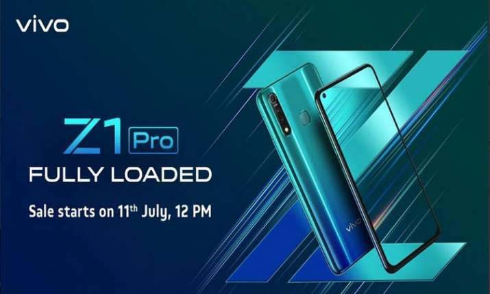 vivo Z1Pro with in-display selfie camera now in India- India TV Paisa