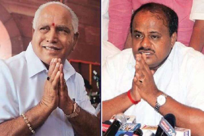 Yeddurappa and Kumarswami- India TV