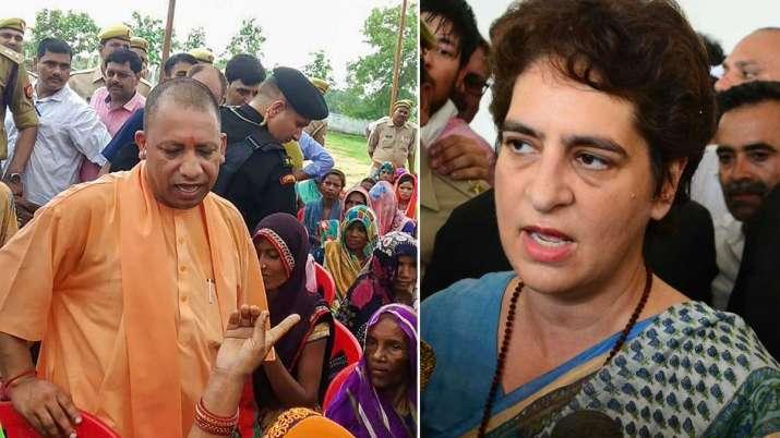 Priyanka Gandhi's jibe at Yogi's Sonbhadra...- India TV