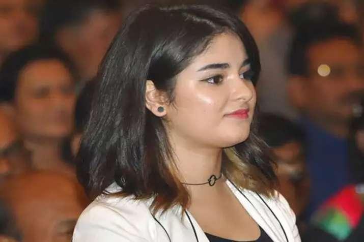 जायरा वसीम- India TV