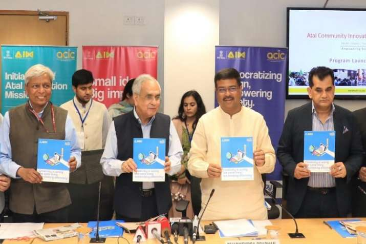 अटल कम्युनिटी इनोवेशन सेंटर (एसीआईसी) के तहत बनेंगे अटल सामुदायिक शोध केंद्र। - India TV Paisa