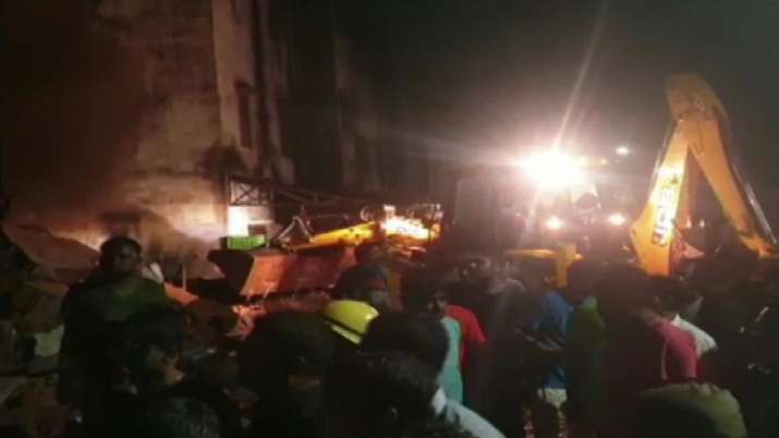 Building Collapses- India TV