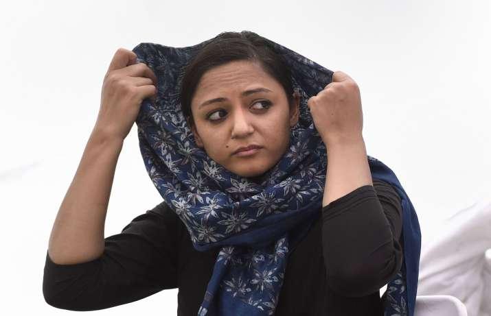 Shehla Rashid- India TV