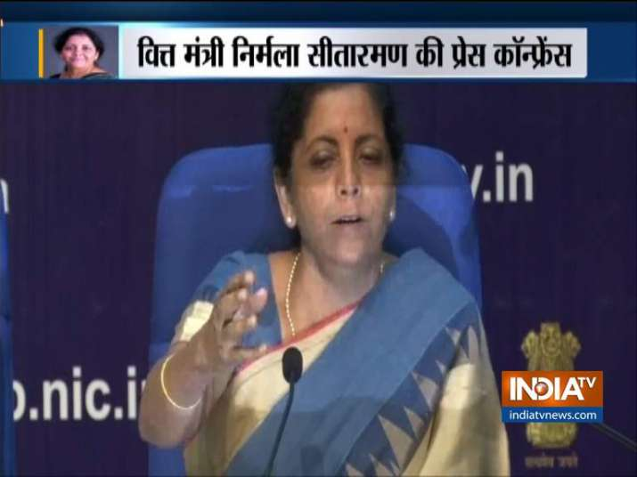 Finance Minister Nirmala Sitharaman on slowdown in Indian Economy- India TV Paisa