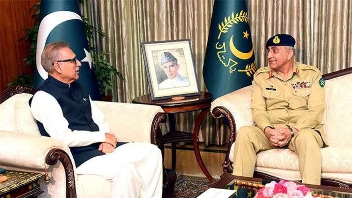 Pakistan's President Arif Alvi warns India 'playing with...- India TV