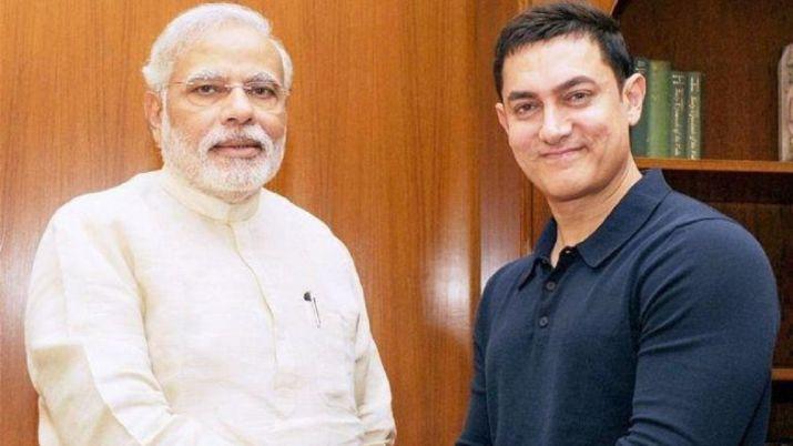 PM Narendra Modi and aamir khan- India TV