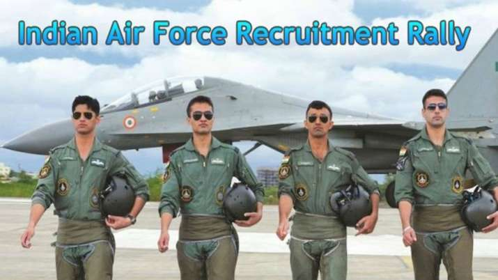 IAF Recruitment Rally is scheduled to be conducted on 5th August 2019- India TV