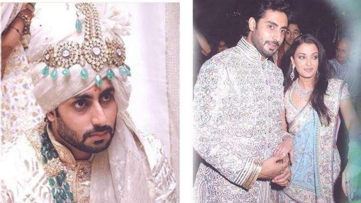 Abhishek bachchana and aishwarya rai wedding photos- India TV