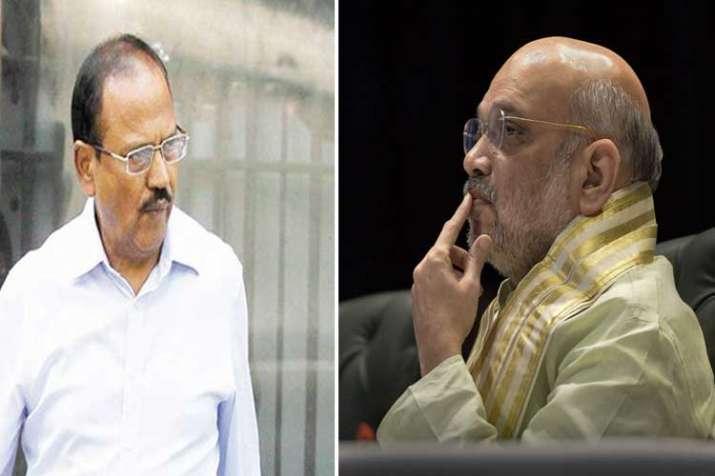 ajit doval and amit shah- India TV