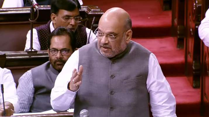 Rajya Sabha passes anti-terror UAPA Amendment Bill, Amit Shah takes a dig at Digvijay Singh | PTI Fi- India TV