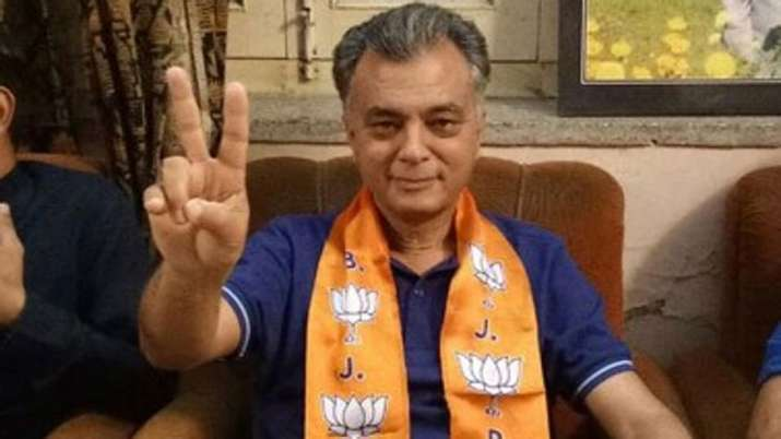 Anil Sharma suspended from BJP confirms Himachal Pradesh BJP Chief Satpal Satti- India TV