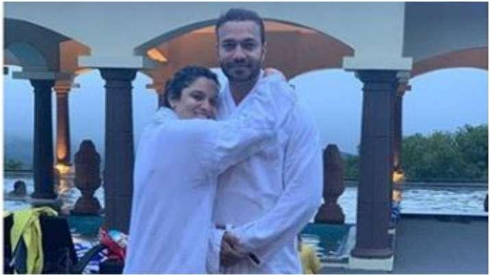 Ankita lokhande with her boyfriend- India TV