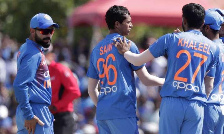 Virat kohli, Navdeep Saini, Team India- India TV