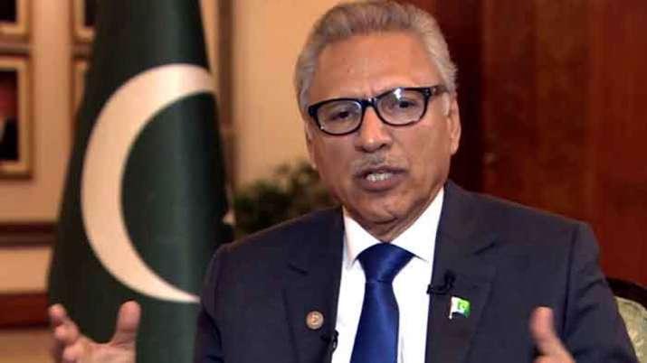 Pakistani President Arif Alvi- India TV