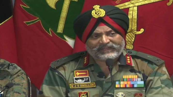 Joint press conference by Lt General K J S Dhillon and J&K DGP Dilbag Singh in Srinagar- India TV