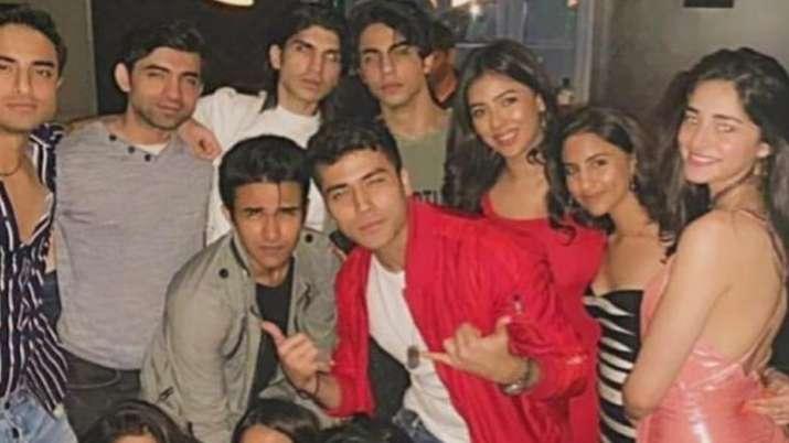 aryan khan- ananya pandey- India TV