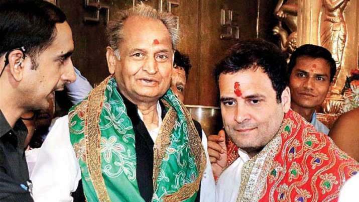 Ashok Gehlot rules himself out of race for Congress chief- India TV